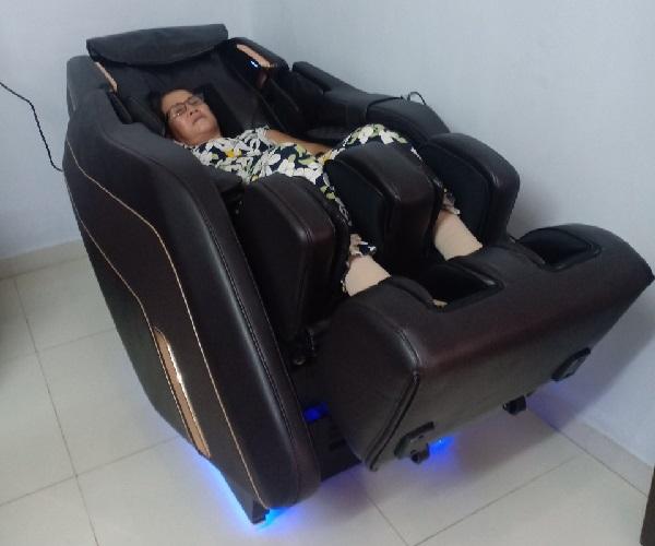 Công nghệ và chất liệu trên ghế massage cao cấp
