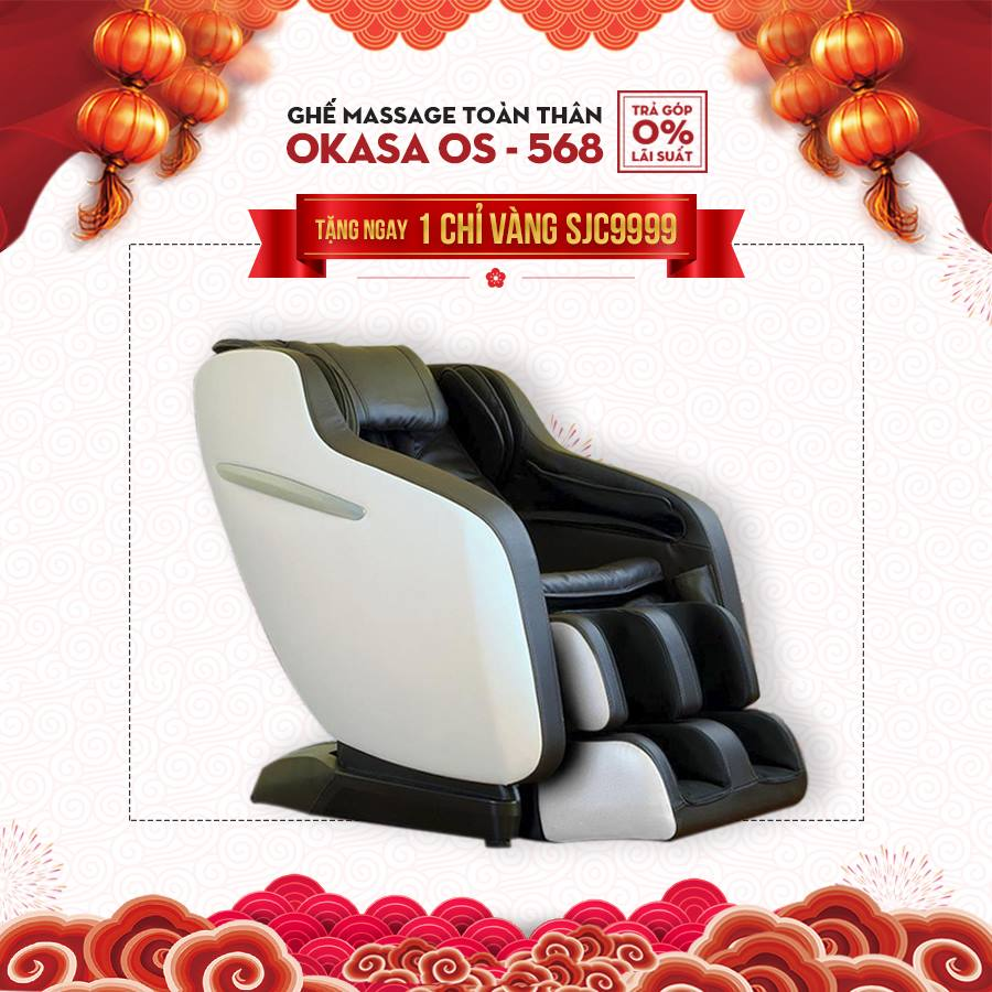 Ghế massage Okasa OS-568 (Hot)