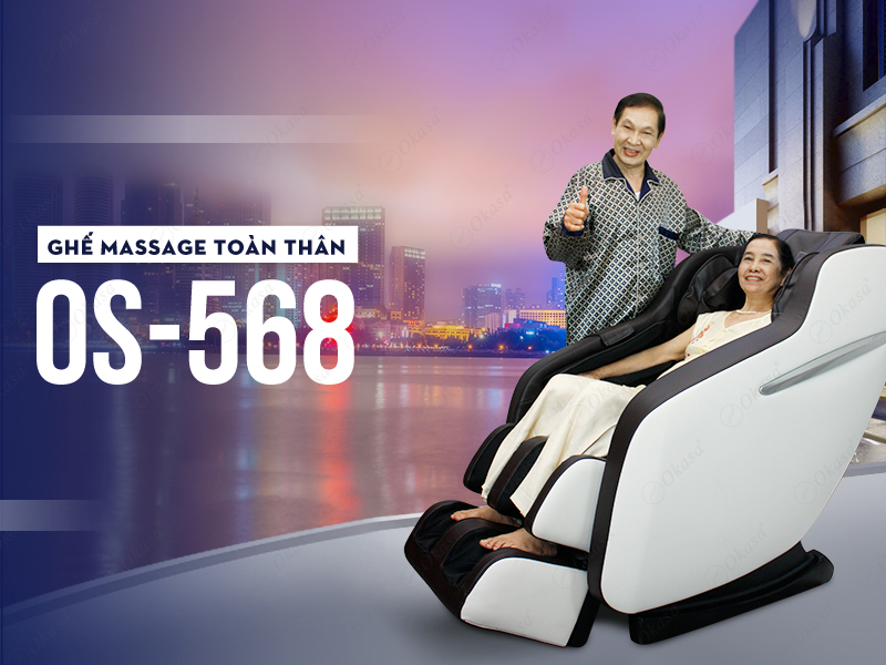 Ghế massage Okasa OS-568