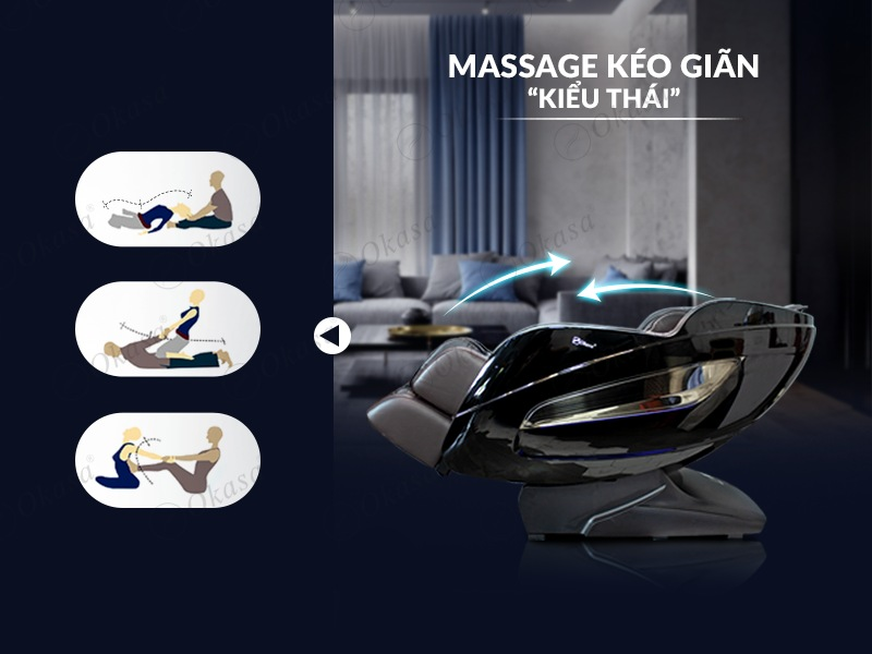 Ghế massage Okasa OS-968